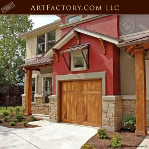 Custom Carriage Garage doors