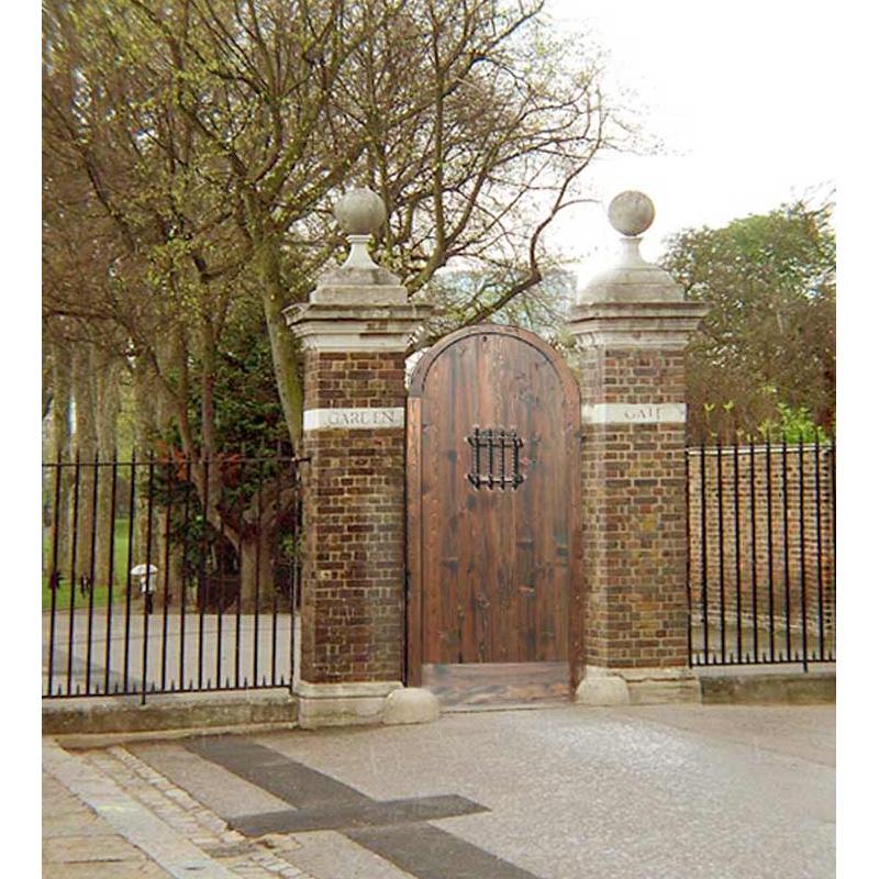 custom arched garden gate