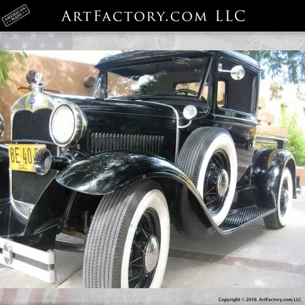 1930 Model A Ford Closed Cab Pickup World Class Restoration