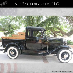 1930 Model A Ford Closed Cab Pickup