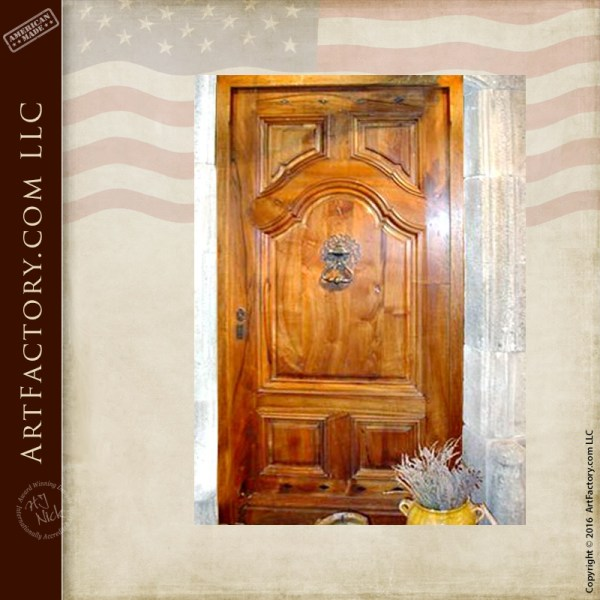 Old Custom Castle Door