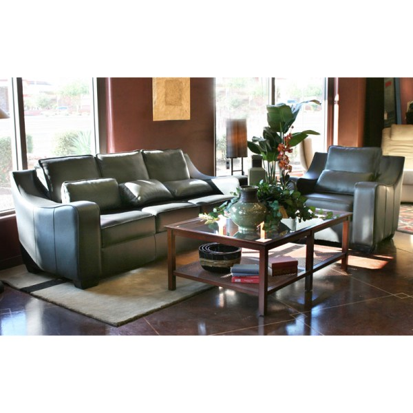 Handmade Leather Sofa: Leather Sofa -Custom Handmade In America Since 1913