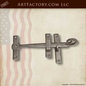 custom slide latch