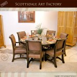 Dining Table Round Dining Solid Wood