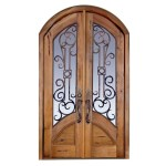 Tuscan Style Custom Wood Doors