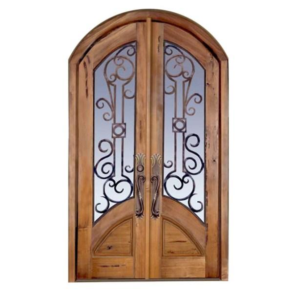 Tuscan Style Custom Wood Doors