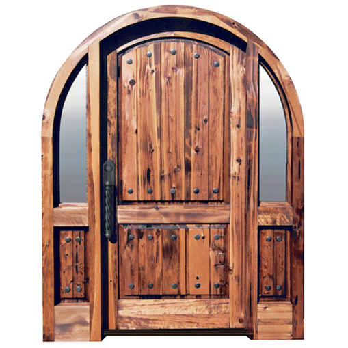 Solid-Wood-Arched-Entry-Door-9021AT