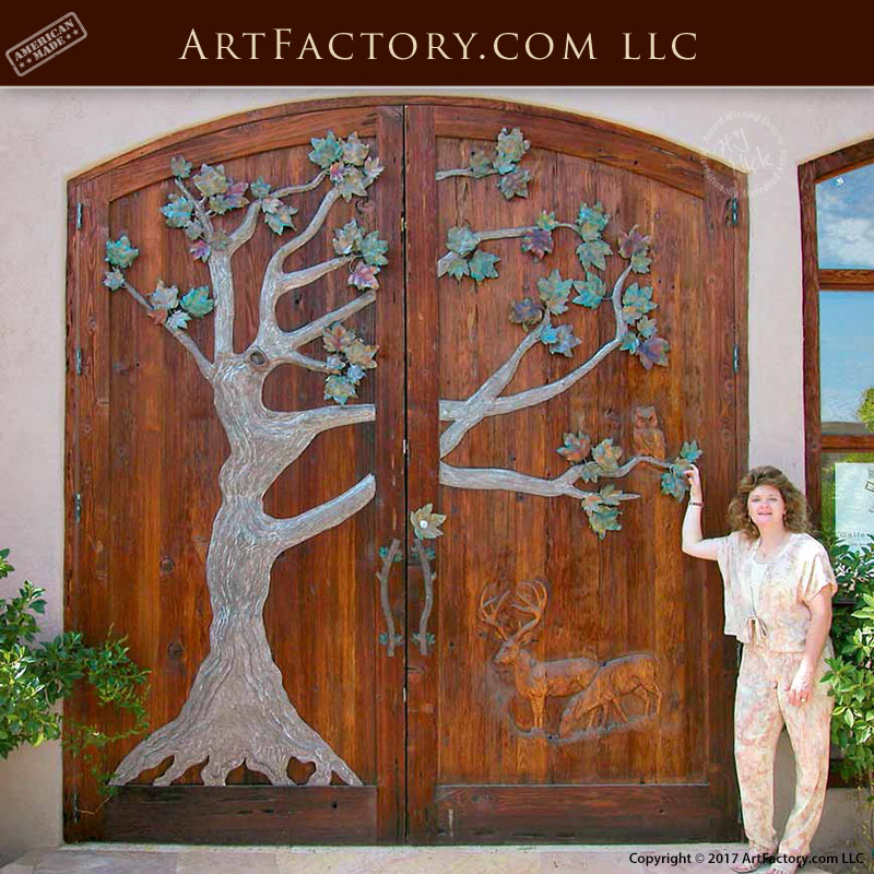 Delicieux Art Factory Grand Entrance Door: The Front Door To Our Showroom U2013 6016AT