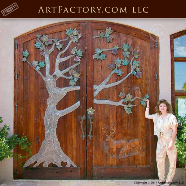 art factory grand entrance door