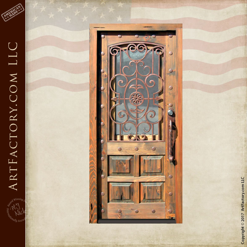 craftsman ironwork door