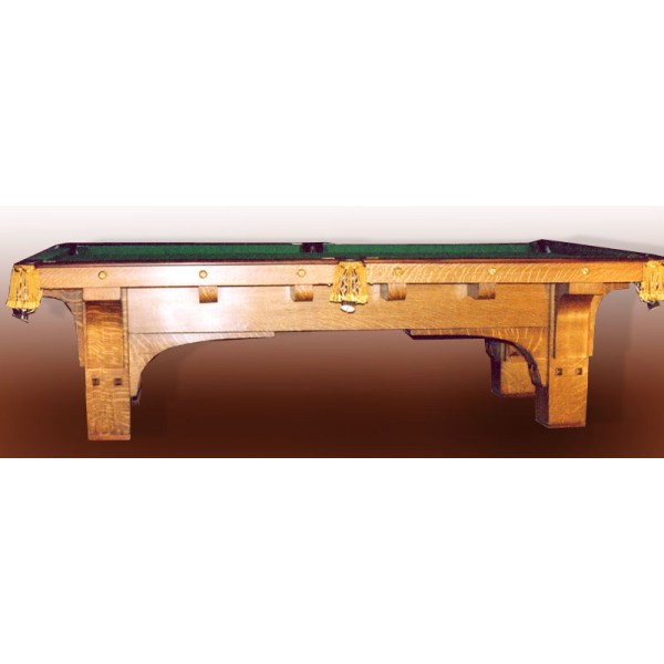 Pool Table Arts & Craftsman Pool Table 1900 America