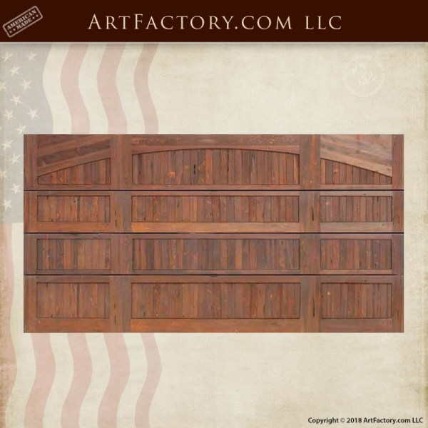 Strange Custom Handcrafted Wood Garage Door Master Crafted In The Usa Download Free Architecture Designs Viewormadebymaigaardcom