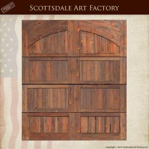 Custom Solid Wood Garage Doors
