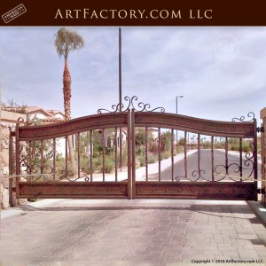 Hand Forged Wrought Iron Estate Gates