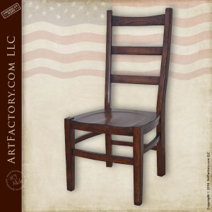 Modern Ladder Back Dining Chair