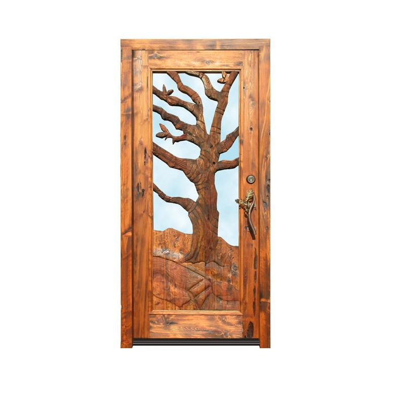 custom carved doors