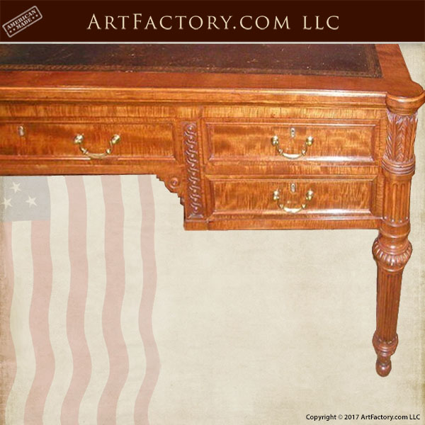 classic carved desk