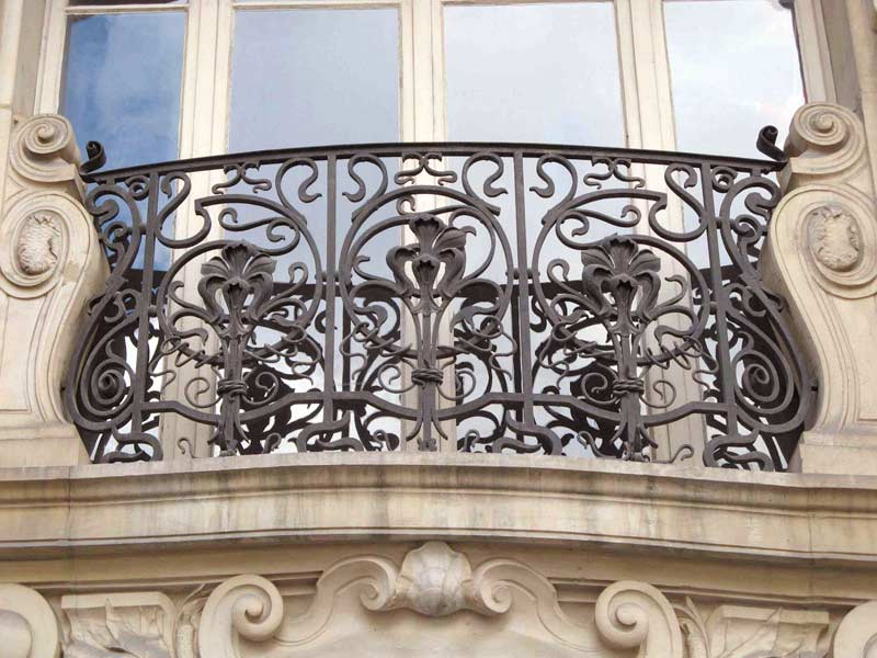 Designer Door Knockers Custom Railings Wrought Iron Balcony - Custom Iron Balcony