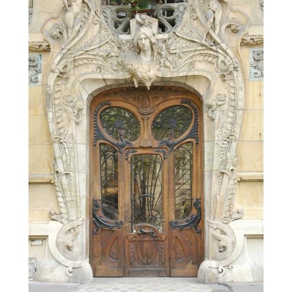 Art Nouveau Door Design From Antiquity