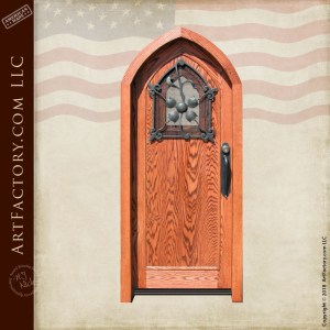 custom cathedral top door