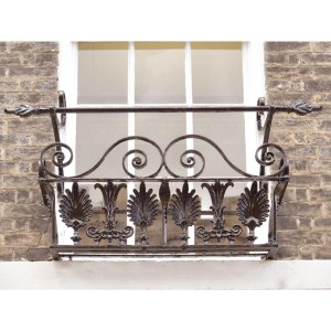 Balcony - Hand Forged Wrought Iron