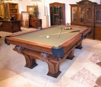 F X Ganter's Pool Table   Custom Pool Tables   High End ...