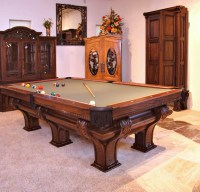 F X Ganter's Pool Table | Custom Pool Tables | High End ...