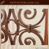 custom hand carved entrance door