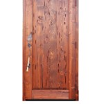 fishing theme cabin door