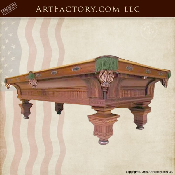 Jewel-Pool-Table–Design-Historical-Record