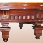 The Jewel Pool Table - Design From Historical Record