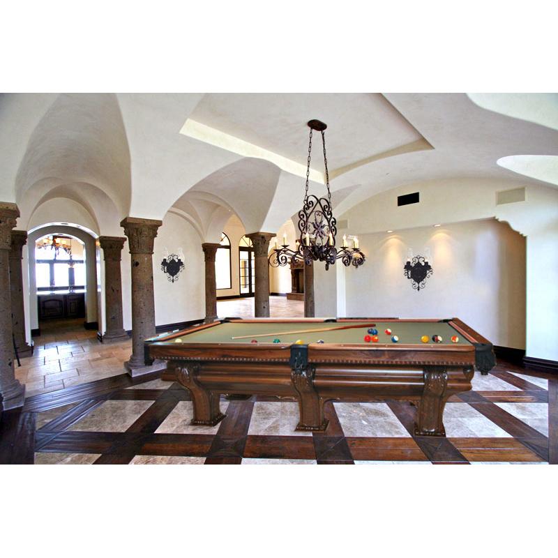 Custom Pool Table FX Ganter Inspired Pool Table