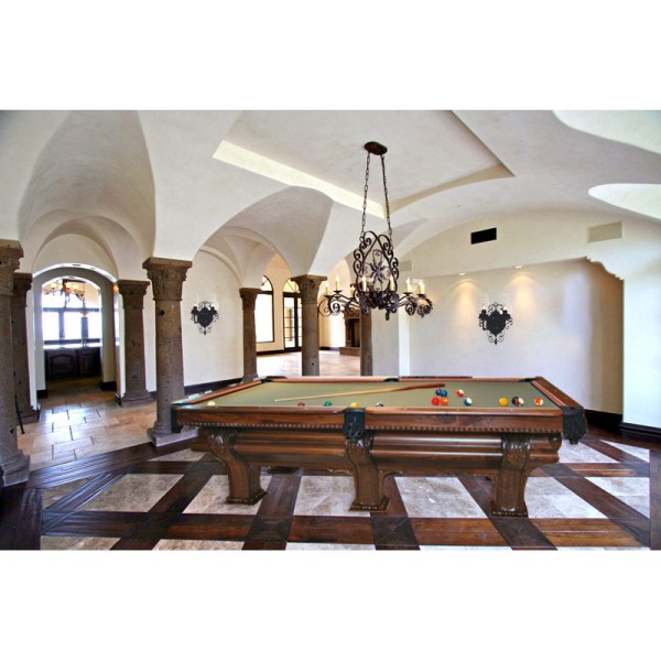 Custom Pool Table FX Ganter Inspired Pool Table