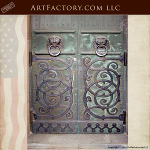 medieval inspired gate