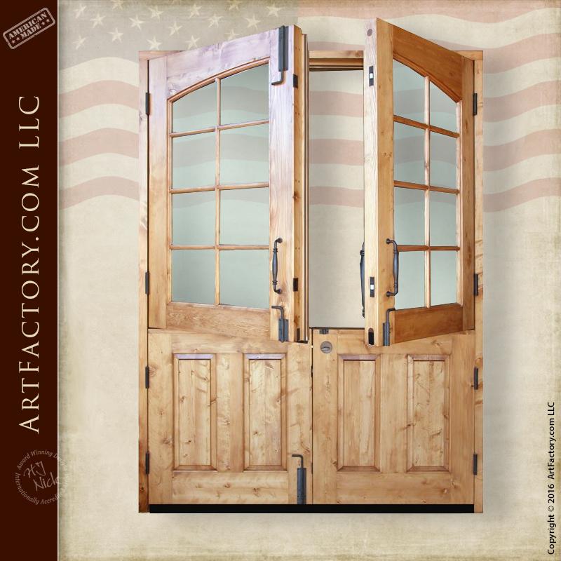 Unique Exterior Custom Doors