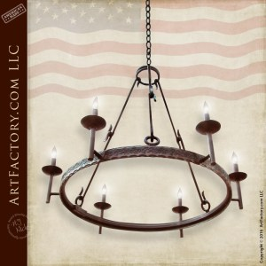 Handcrafted Custom Iron lighting