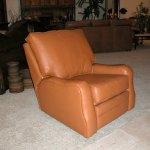 Custom Leather Recliner