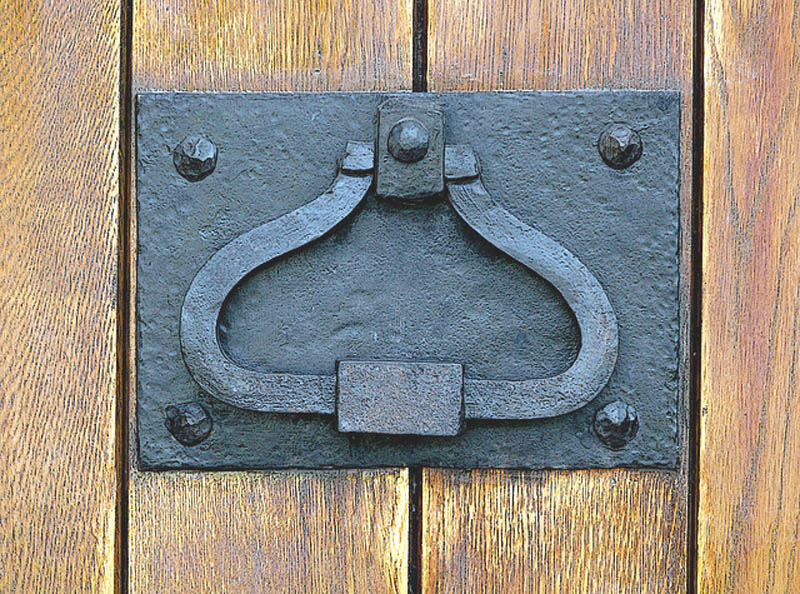 Door Pull Knocker - Historic Design