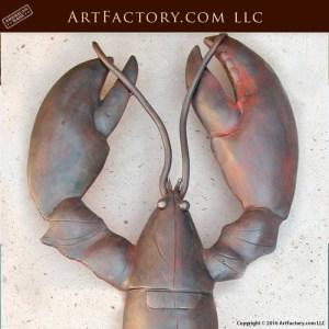 hand forged lobster door pulls