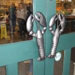 Lobster Door Pull - L. L. Bean Retail Center