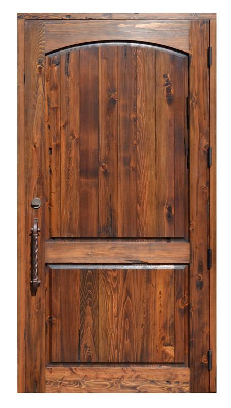 Custom Wood Entry Door