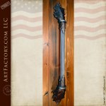 Hand Forged Wrought Iron Door Pull