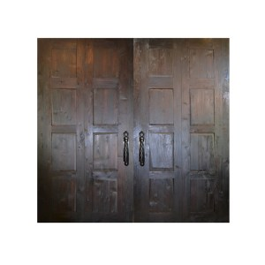 rustic contemporary wood doors