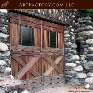craftsman style garage door