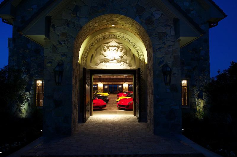 castle style garage doors man cave security doors