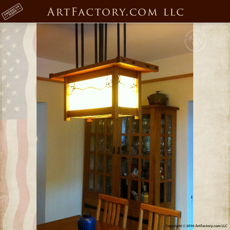 custom craftsman lighting handcrafted