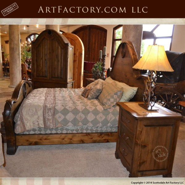 Pleasing Art Nouveau Style Nightstands Matching Bed And Armoire Download Free Architecture Designs Osuribritishbridgeorg