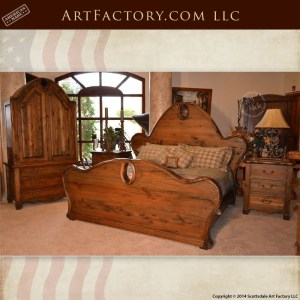 Art Nouveau style bedroom set
