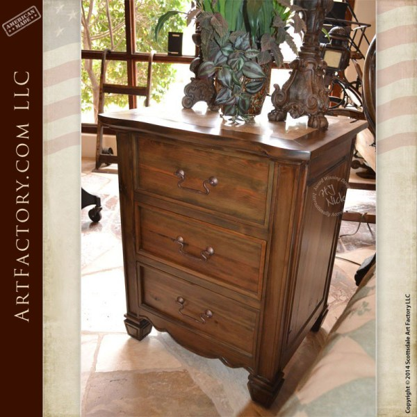 Art Nouveau style bedroom set matching Art Nouveau style nightstands
