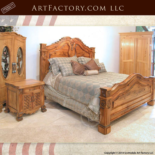 Hand Carved Bedroom Furniture